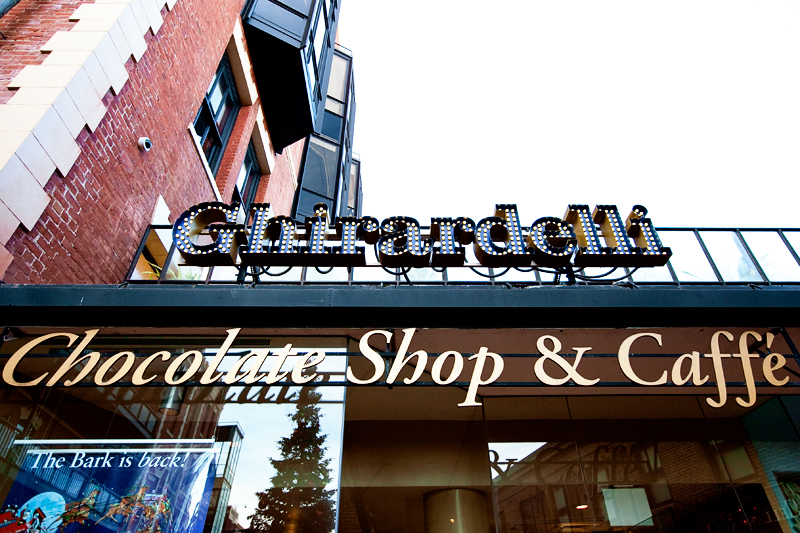 Shops & Chocolate at Ghirardelli Square in San Francisco