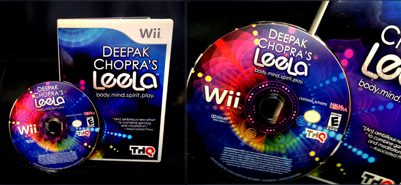 Deepak Chopra's Leela for the Wii Gaming Console