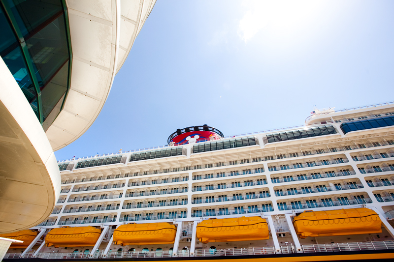 Disney Cruise Line - Disney Dream - Embarkation Day May 26th, 2011