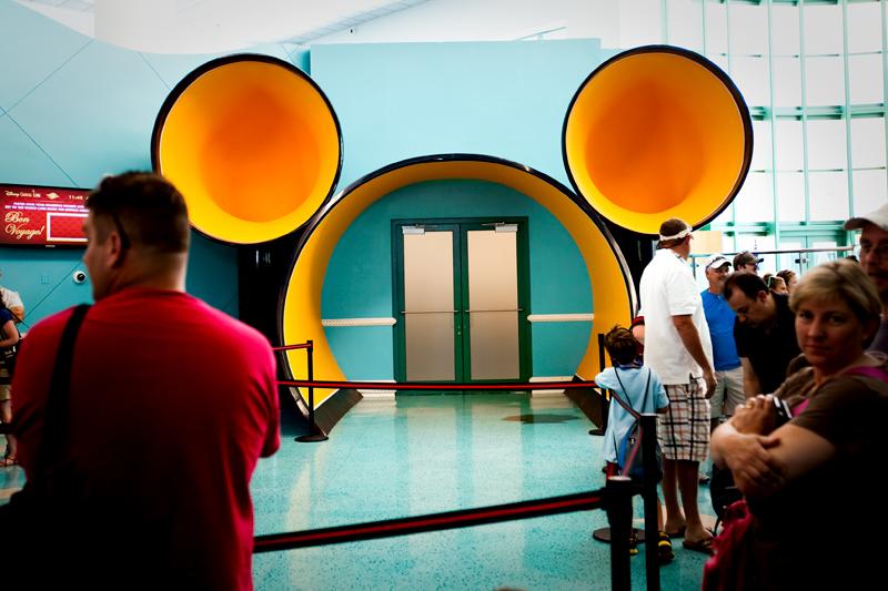 Disney Cruise Line - Disney Dream - Embarkation Day May 26th, 2011