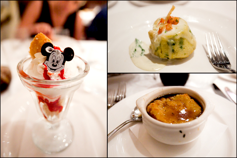 Dinner at the Royal Palace on the Disney Dream