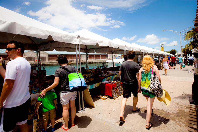 Street Vendors in Nassau Bahamas