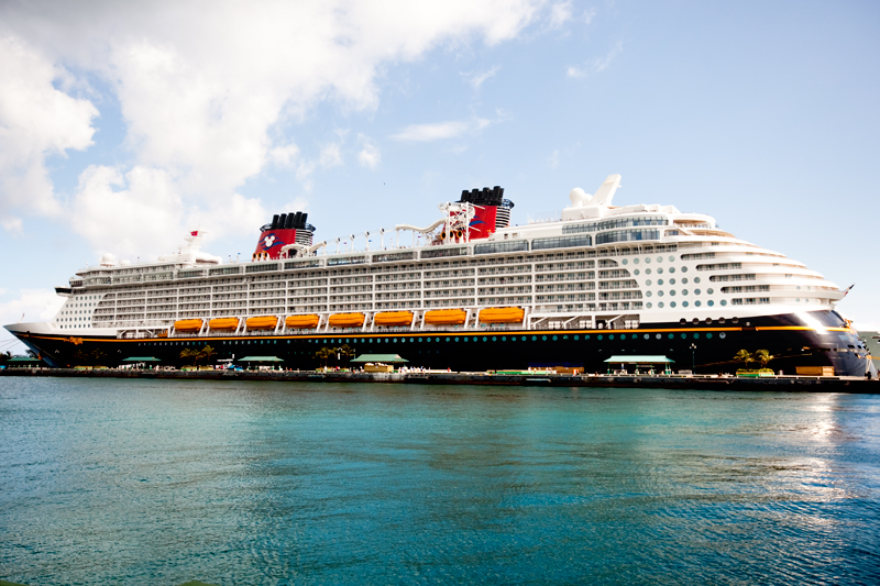 Photo of Disney Dream while ported at Nassau Bahamas