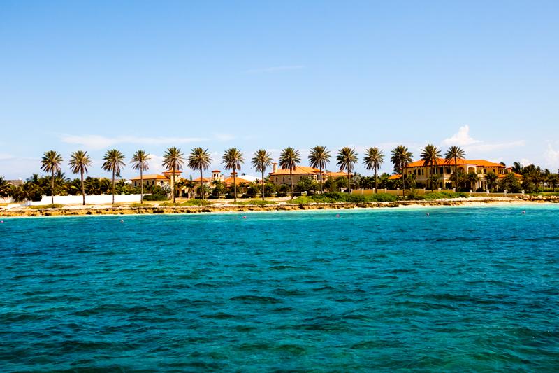 Disney Cruise ferry to Blue Lagoon Island