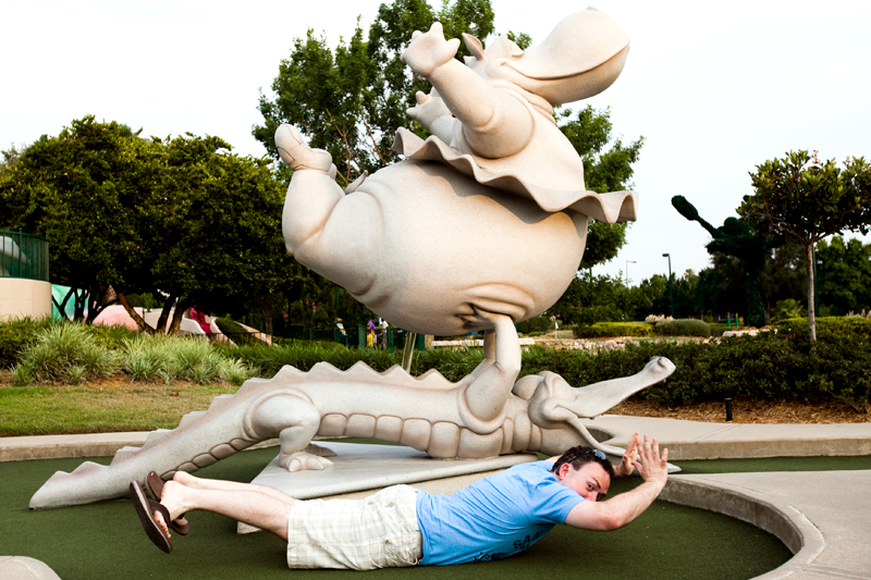 Fantasia Gardens Miniature Golf in Disney World