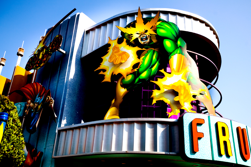 Marvel Super Hero Island at Islands of Adventure in Orlando, FL