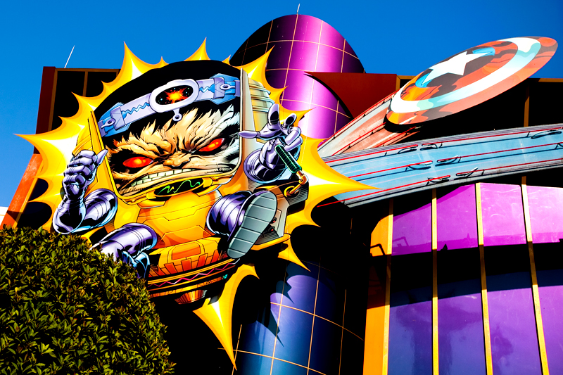 Marvel Super Hero Island at Islands of Adventure in Orlando, FL