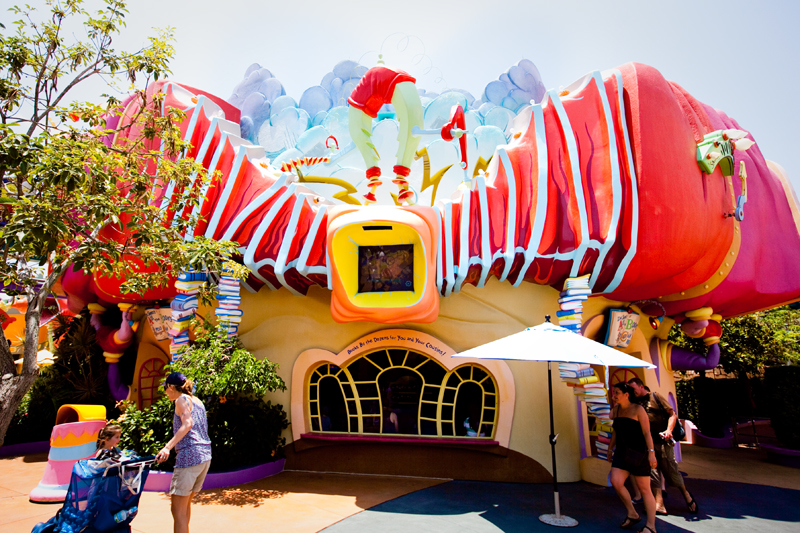 Funky Building - Seuss Landing in Islands of Adventure
