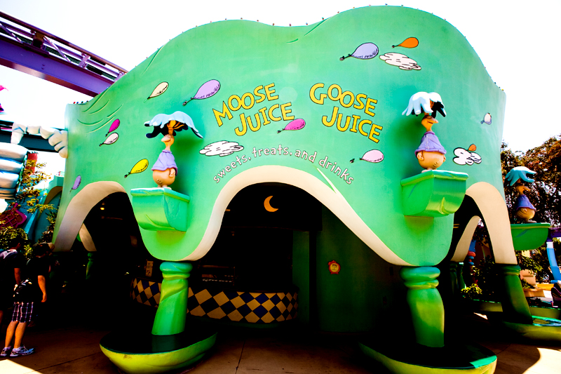 Moose Juice Goose Juice shop in Seuss Landing - Islands of Adventure