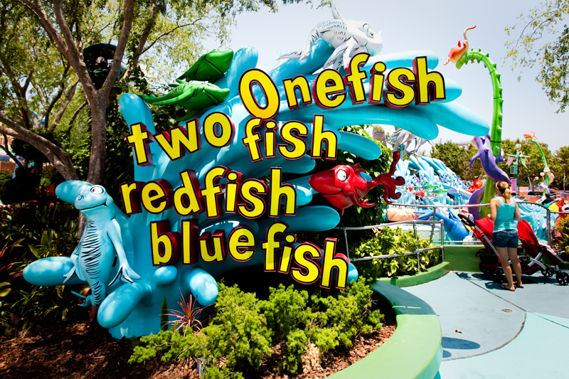 One Fish Two Fish Red Fish Blue Fish - Seuss Landing