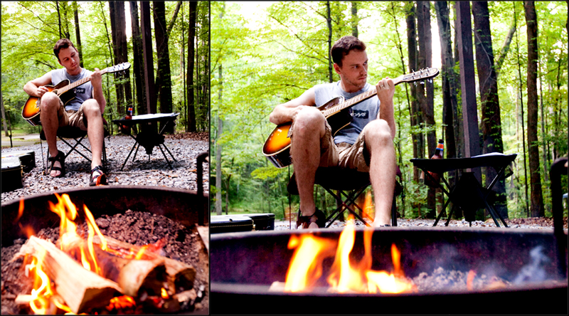 Elkmont Campground Smoky Mountains Tennessee