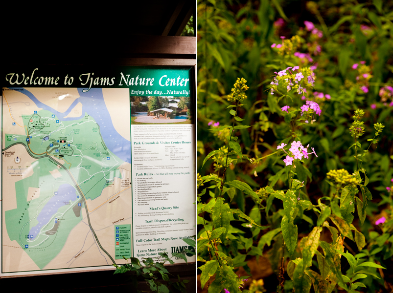 Ijams Nature Center in Knoxville, Tennessee