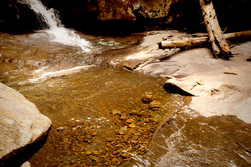 Ramsey Cascades hiking trail in the Smoky Mountains