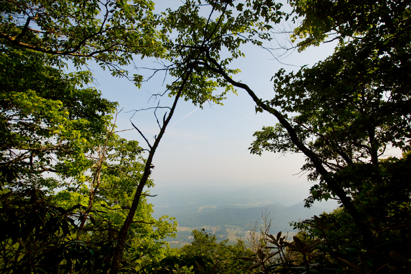 Rich Mountain Loop Hiking Trail - Cades Cove in Smoky Mountains