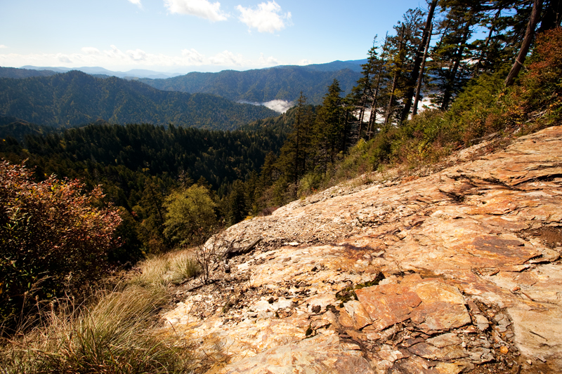Hike to Mt. LeConte via Alum Cave Bluffs