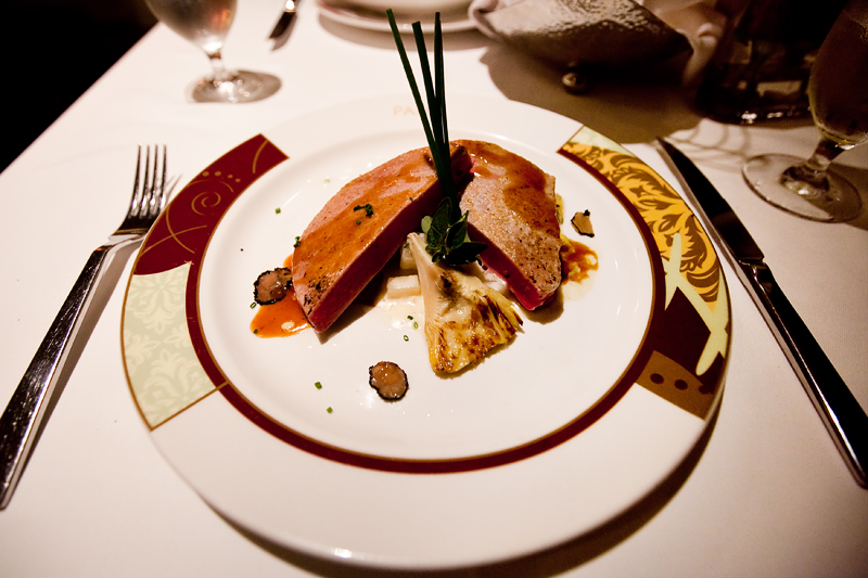 Tour of dinner at Palo on the Disney Magic Cruise Ship