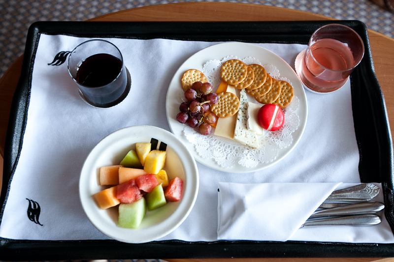Room service aboard a Disney cruise