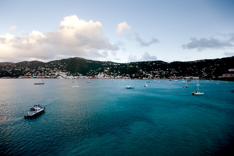 Disney Cruise St. Thomas Port