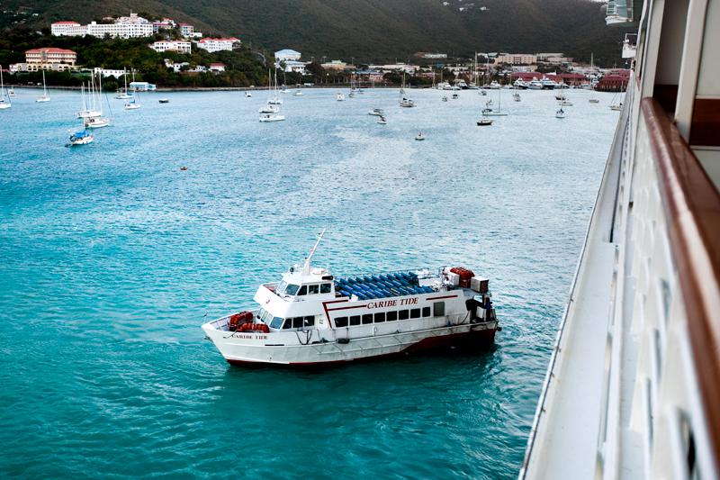 Disney Cruise St. Thomas Port