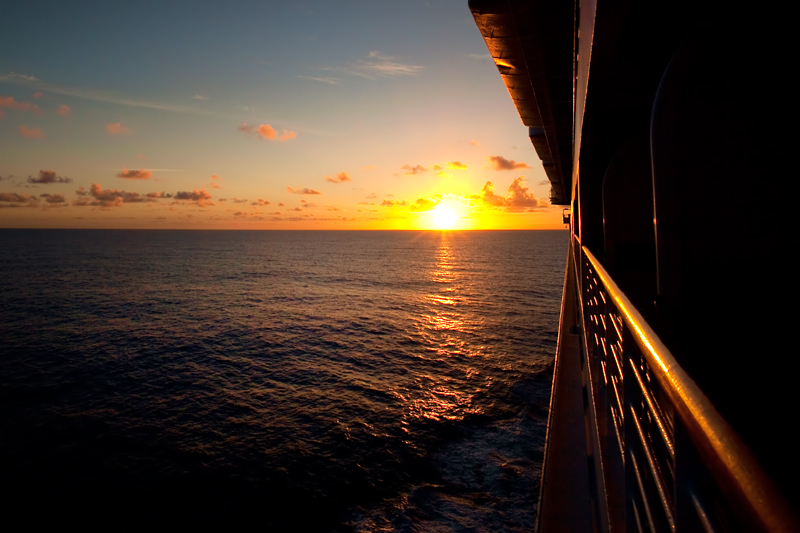 Sunrises and Sunsets on a Disney Cruise