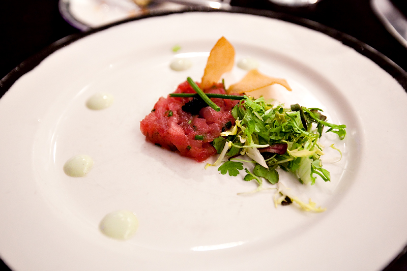 Ahi tunta tartare at Animator's Palate