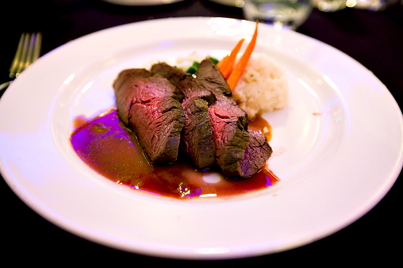Shere Khan's Asian marinated beef short ribs at Animator's Palate