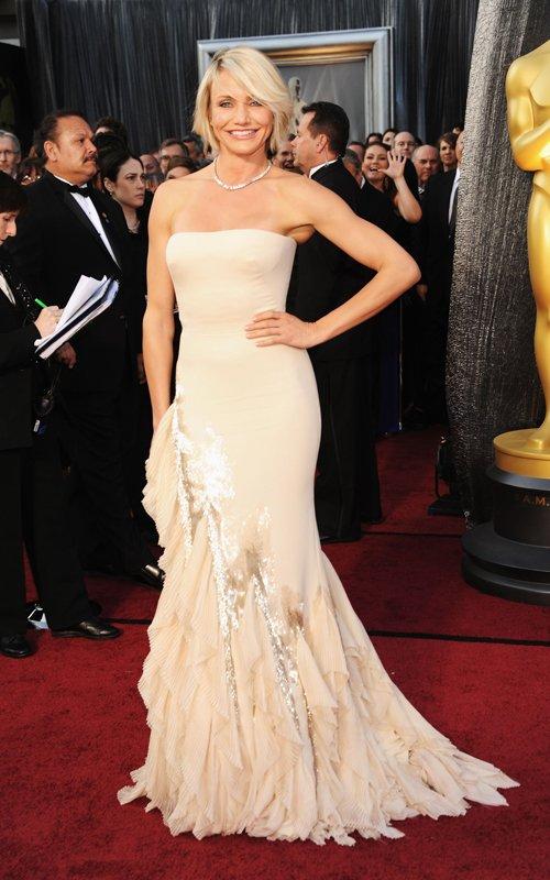 Cameron Diaz at the 2012 Oscars