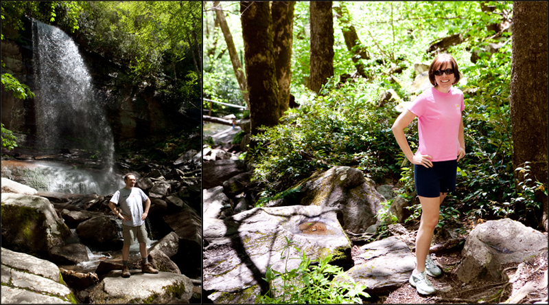 Hike to Rainbow Falls