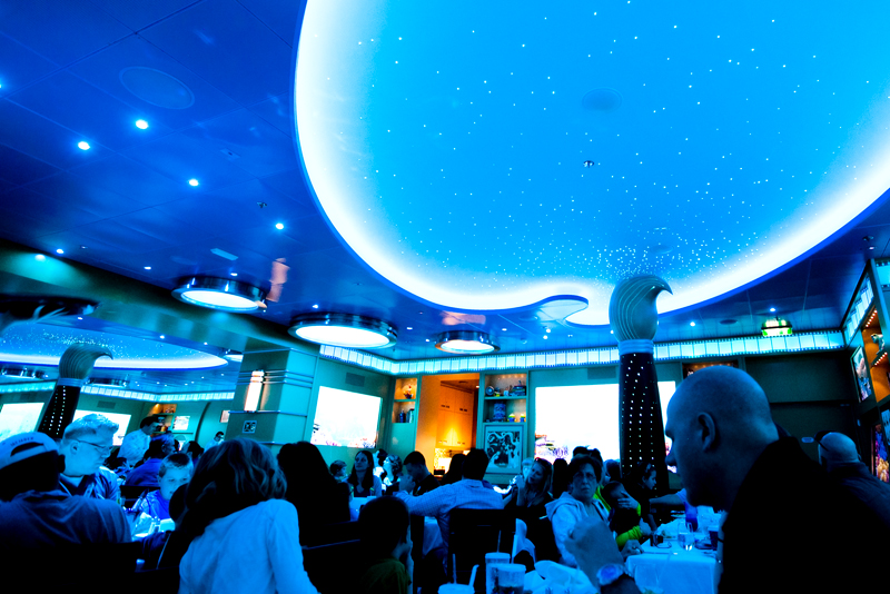 Animator's Palate dinner on the Disney Fantasy