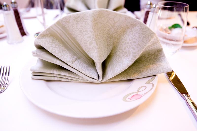Enchanted Garden dinner menu