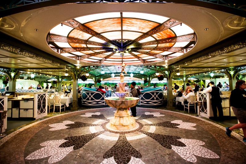 Disney Fantasy Cruise Western Caribbean Enchanted Garden Lunch Brownie Bites Blog