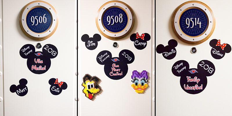 disney cruise door decorations