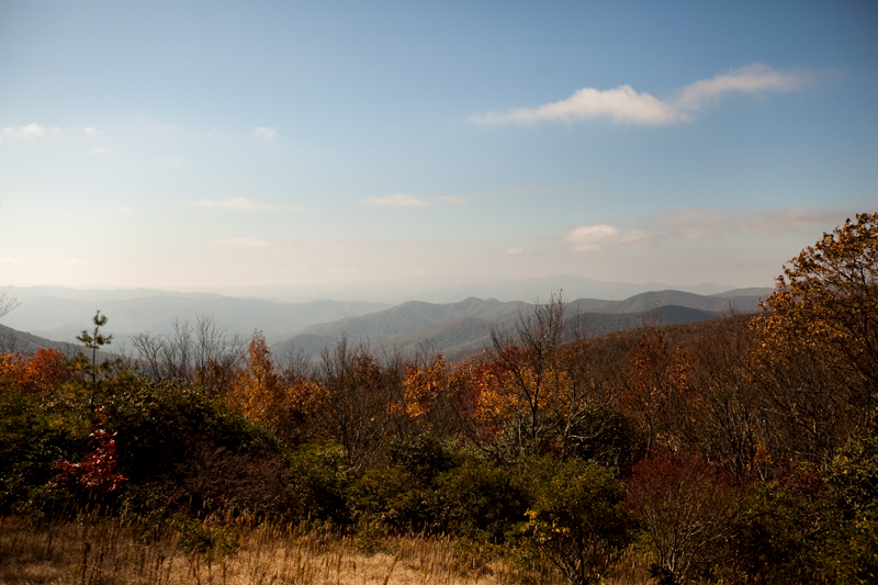 hike to spence field and rocky top in the smoky mountains