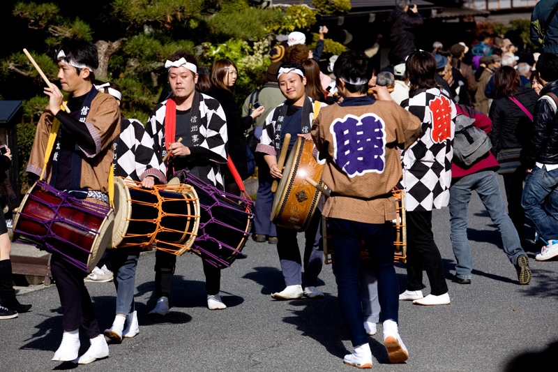 kiso valley tsumago fall festival