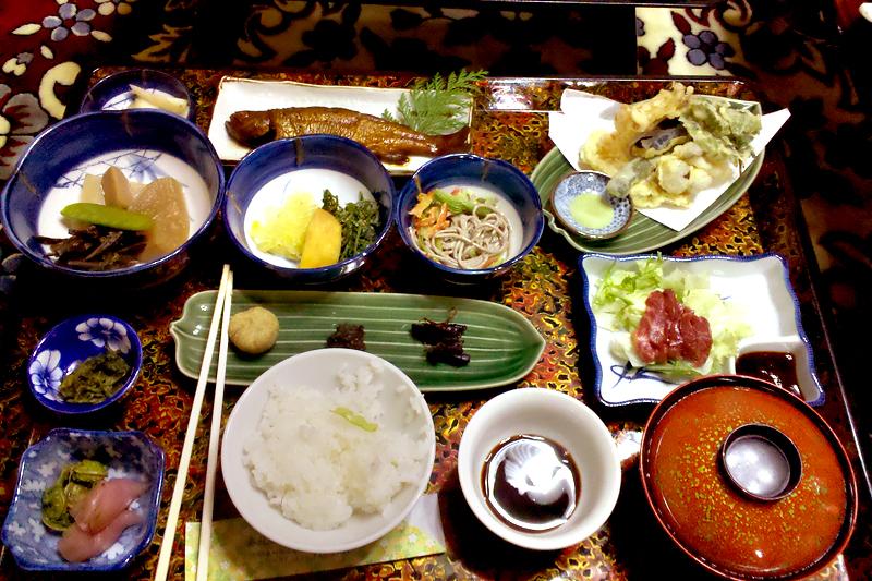 kiso valley tsumago minshiku