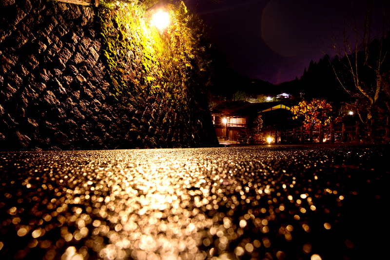 kiso valley tsumago night