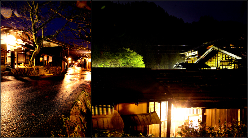 kiso valley tsumago night