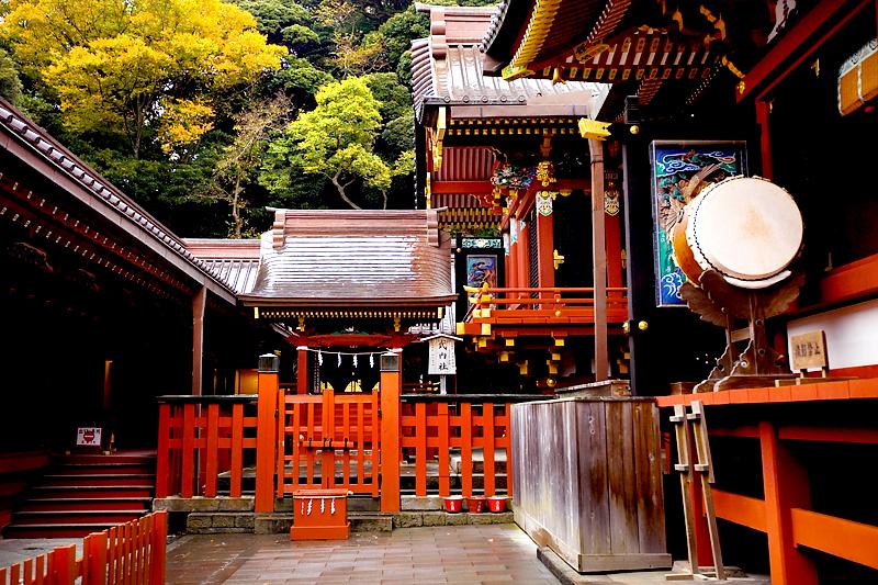 kamakura tsurugaoka  hachimangu taiko