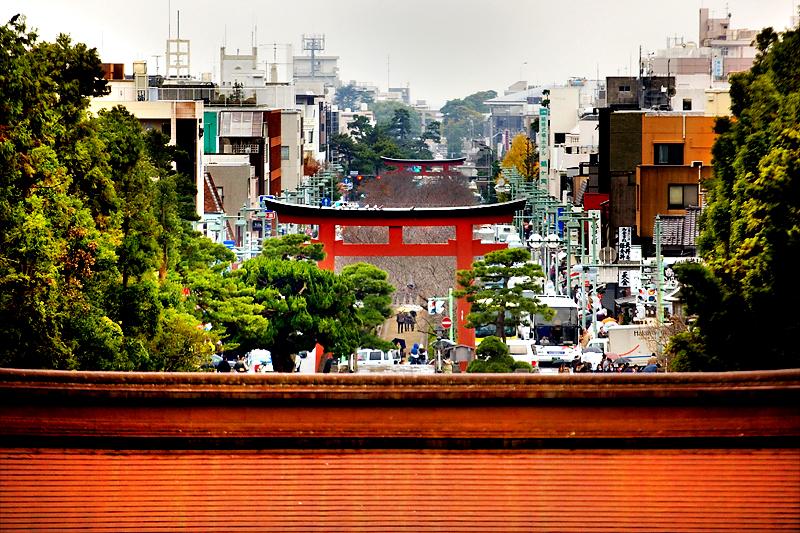 kamakura tsurugaoka hachimangu approach