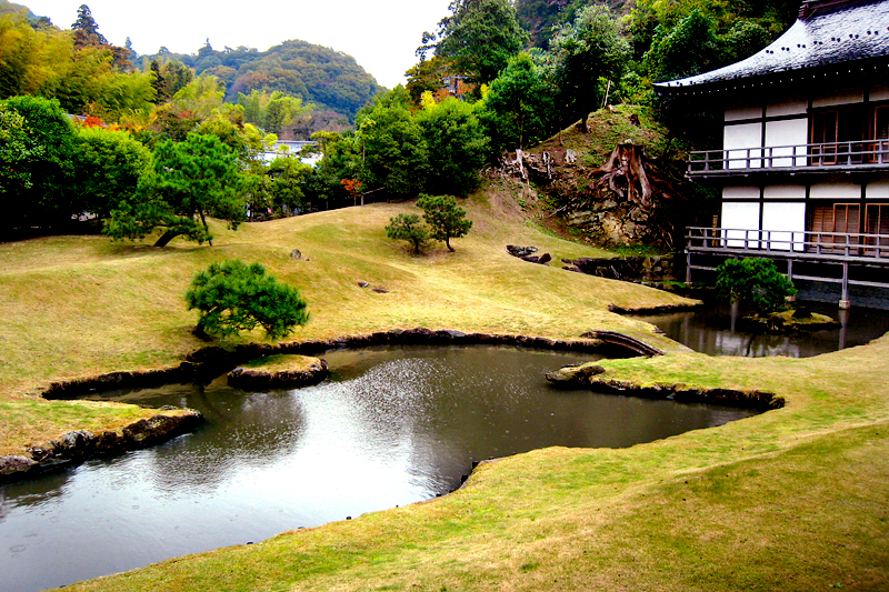 kamakura kenchoji garden