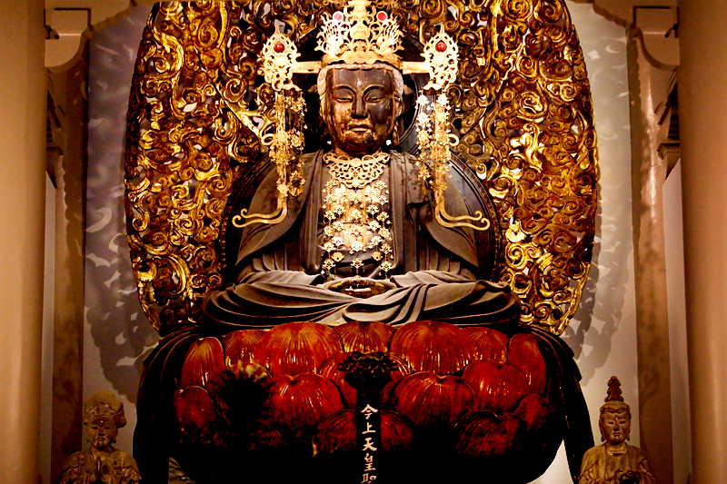 kamakura kenchoji statue