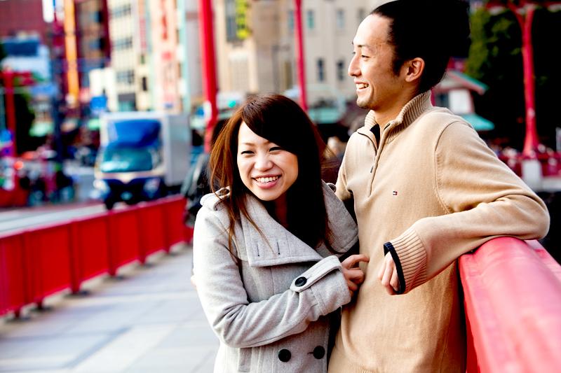tokyo engagement photo