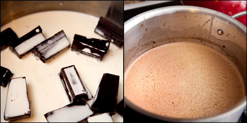 Homemade Salted Caramel Cocoa on Christmas Eve