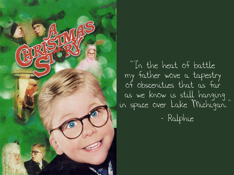 A Christmas Story Tapestry of Obscenities Quote
