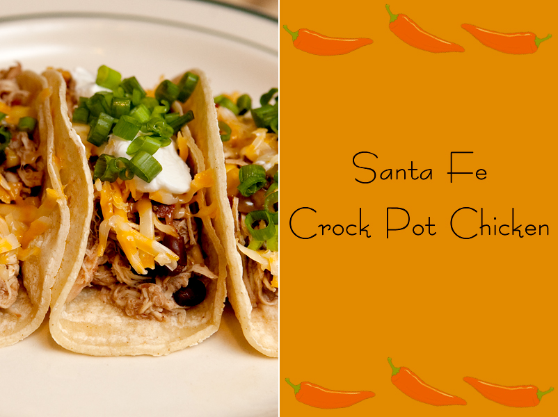 Santa Fe Crock Pot Chicken | Brownie Bites Blog