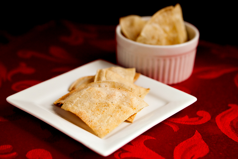 How to make healthy homemade tortilla chips