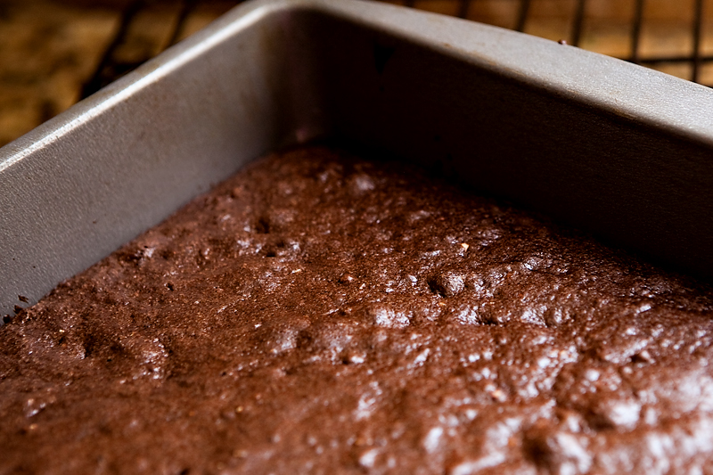 Carob brownies with caramel icing - substitute for chocolate!