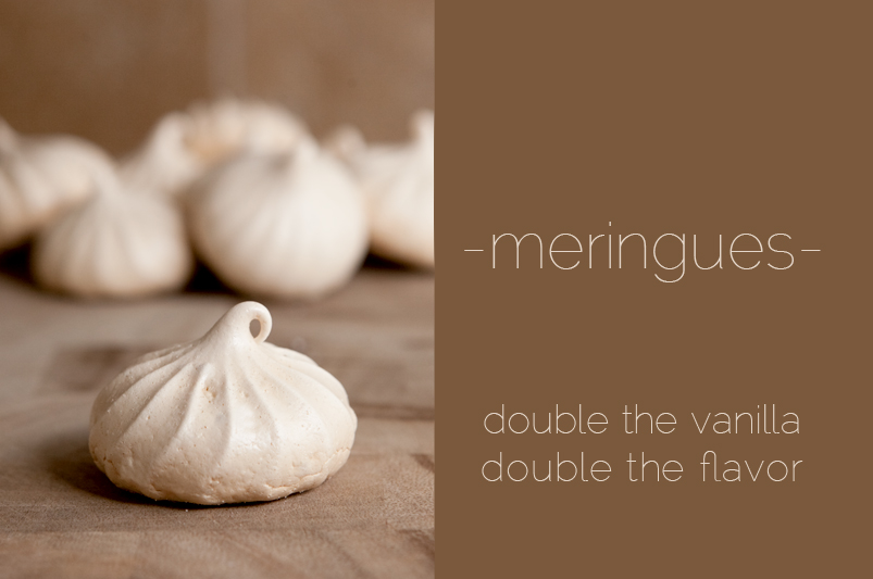 How to make vanilla meringue cookies