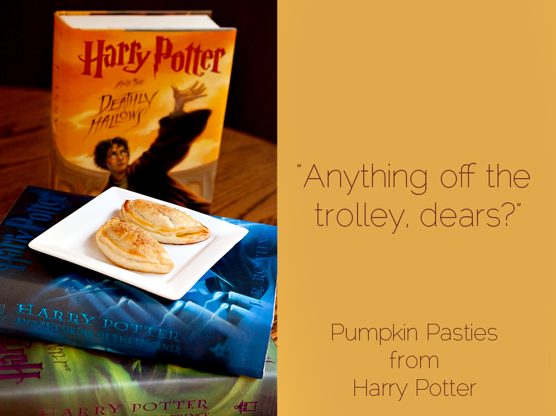 How to make pumpkin pasties from harry potter