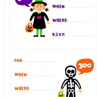 31 Days of Halloween #20: Free Party Printables!